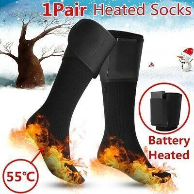 Ebay Link Advertisement Ebay Electric Heated Socks Rechargeable Battery Feet Foot Warmer For Skiing Fishing Heated Socks Foot Warmers Socks
