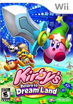 Kirby S Return To Dream Land Wii Kirby Wii Games