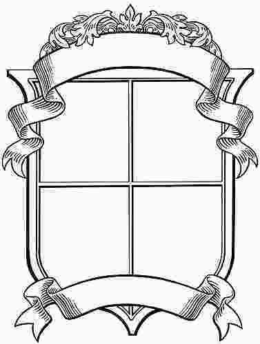 Family Crest Coloring Page Blank Family Crest Clipart Best 120945 Family Shield Coat Of Arms Family Crest