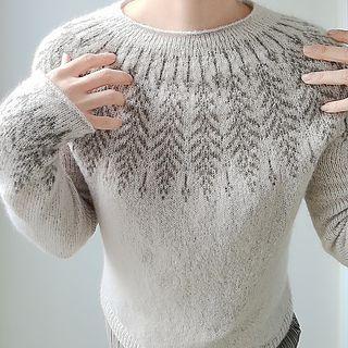 Brightfeather pattern by Jennifer Steingass