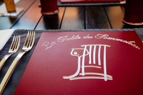 La Table Du Sommelier Albi Menu Degustation Table Et Menu