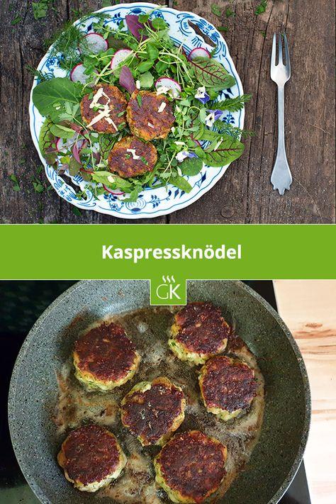Kaspressknodel Einfache Gerichte Hauptspeise Und Lebensmittel Essen