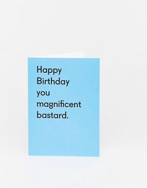 Ohh Deer Happy Birthday you magnificent bastard card | Swear