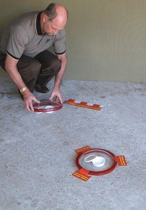 Learn How To Repair Cracks In Concrete Floors Concrete Floors Painted Concrete Floors Floor Coating