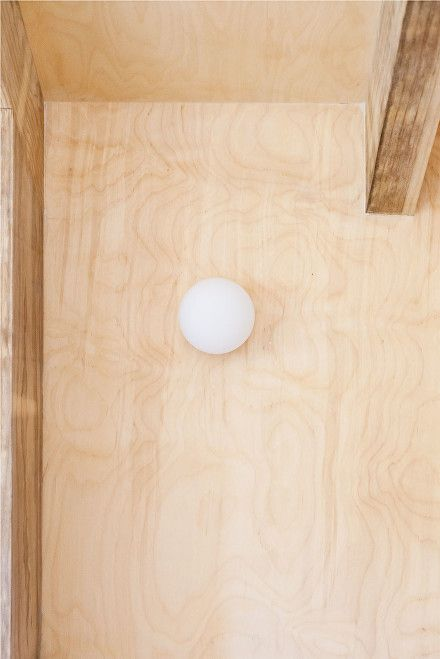 Plywood Panelling And Conran Wall Light Plywood Panels Woven Furniture Furniture Making