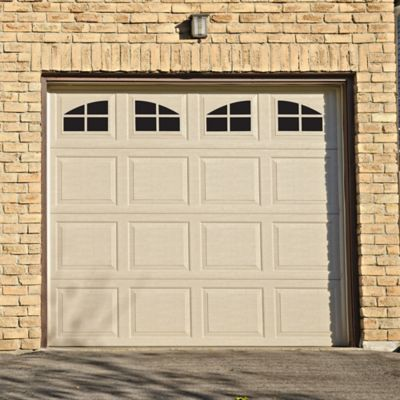 Household Essentials Magnetic Garage Window Accents In Black Set Of 16 Garage Windows Garage Door Styles Garage Door Types