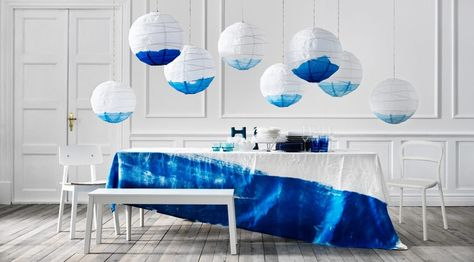Celebrate in style! DIY and decorate some REGOLIT paper shades for a whimsical touch.
