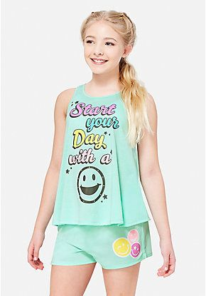 9125b506821 Girls' Pajamas - PJ Sets & Sleep Separates | Justice | Justice new ...