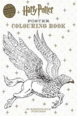 Harry Potter Poster Colouring Book By Various 9781743792179 Qbd Books Harry Potter Coloring Book Harry Potter Poster Coloring Books