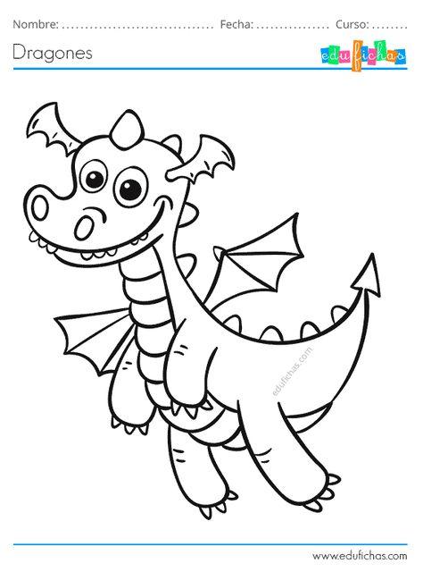 Dibujos De Dragones Cuadernos Para Ninos En 2020 Dibujo De Dragon Dragones Dragones Para Colorear