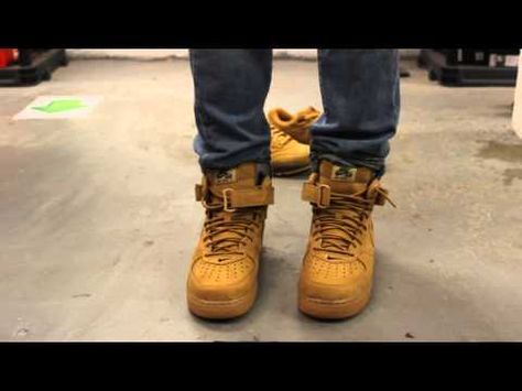 Nike air force 1 | Hiking boots, Nike air, Boots