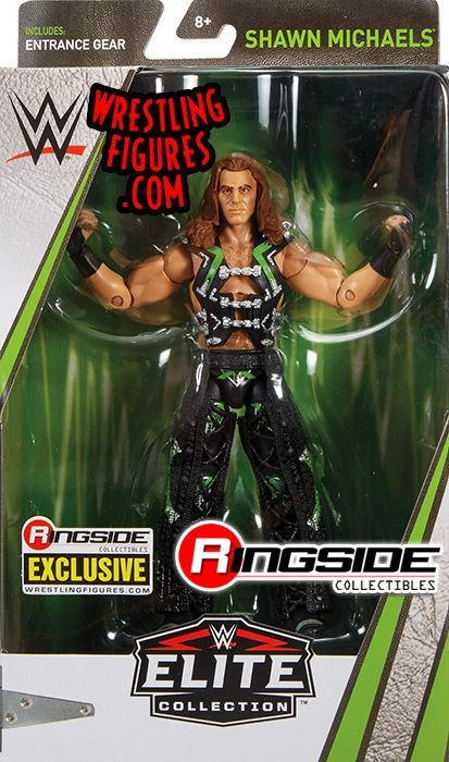 WWE Shawn Michaels DX Flashback Elite Wrestling Figure Walgreens Exclusive