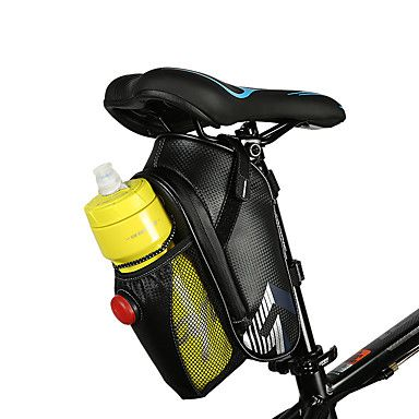 Waterproof Mountain Bike MTB Bicycle Saddle Bag Under Seat Pouch Tail Rear Pack