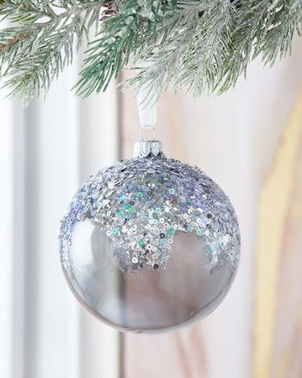 Gemstone Ball Christmas Ornaments Home Decorations for Holidays Christmas Tree Ornaments