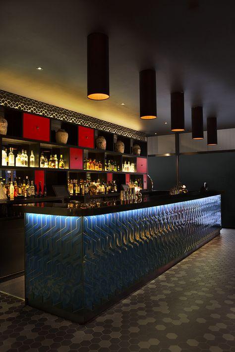 MiniBar El Vicio XXVI Donde Puppy Viola Pibes Bar Interior - Bar design tribe hyperclub by paolo viera