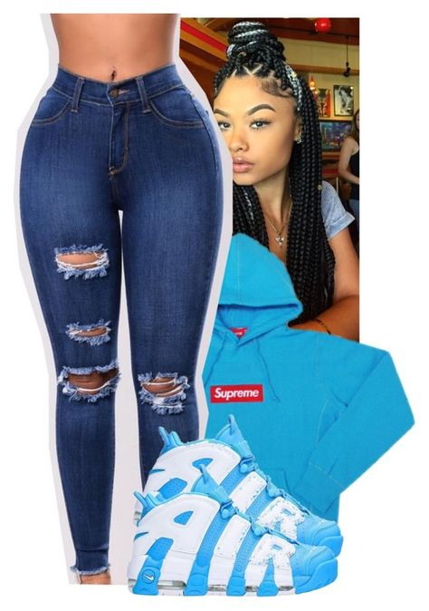 """""""U P T E M P O"""" by krazybrandyy ❤ liked on Polyvore featuring NIKE"""