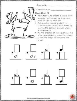Summer Music Worksheets 24 Music Math Worksheets Educacion Musical Musical Educacion