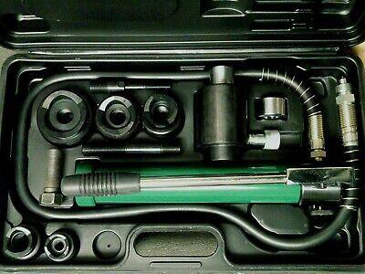 Sponsored Ebay New 3 4 2 Hydraulic Knockout Punch Driver Set W Greenlee 249av 3 4 Draw Stud In 2020 Hydraulic Hydraulic Ram Hand Pump