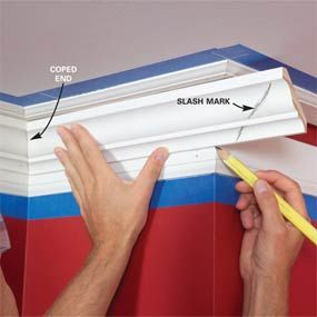 Tips on how to do crown moulding