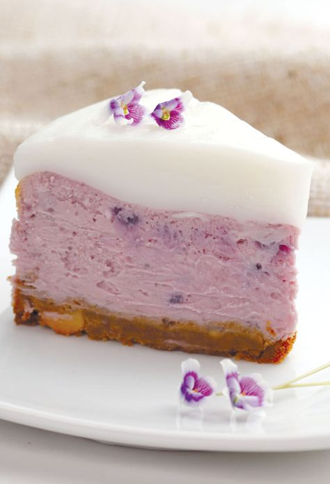 PURPLE SWEET POTATO CHEESECAKE~ Crust: ¾ cup macadamia nuts finely chopped, ¾ cup graham cracker crumbs, ½ cup melted butter. Cheesecake: 1½ cups steamed and mashed, 2 Okinawa purple sweet potatoes, 2 (8 oz) packages cream cheese, 3 large eggs, ¾ cup sugar, 1 tsp vanilla extract. Haupia: 2 cups coconut milk, 1 cup sugar, 2 cups water, ½ cup cornstarch.