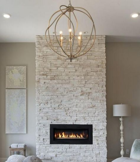 LED Electric Fireplace Wall Mount : 50