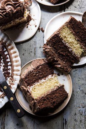Better Together Chocolate Vanilla Birthday Cake Recipe With