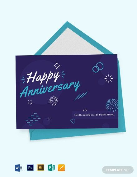 Happy Anniversary Card Template Word Doc Psd Apple Mac Pages Illustrator Publisher Happy Anniversary Cards Happy Anniversary Anniversary Cards