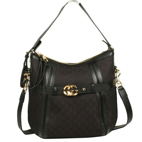 9c20794a6 Gucci Running Medium Hobo Bag 247185 Black [dl8981] - $212.89 : Gucci  Outlet, Cheap Gucci online,Gucci UK