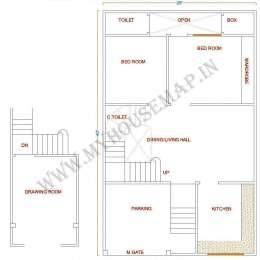 Indian Small House Map Design Sample House Map Small House Map Home Map Design
