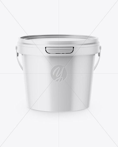 Download Food Bucket Mockup Free Yellowimages
