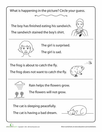 10 No Prep Printables For Grades 2 4 Help Students Infer Feelings And Emotions Of Characters Based Character Trait Worksheets Inference Feelings And Emotions