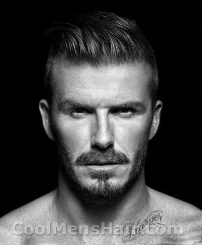 S Mens Facial Hair Photo Of David Beckham Slicked Back - David beckham slicked back hairstyle