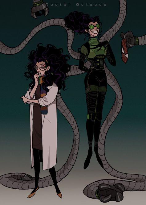 """Olivia """"Liv"""" Octavius (Spider-Man: Into the Spider-Verse) Marvel Art, Marvel Dc Comics, Marvel Avengers, Natalie Dormer, Anne Boleyn, Marvel Universe, Dr Octopus, Spiderman Art, Spider Verse"""