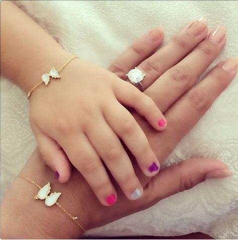 Mommy and me bracelet set♡
