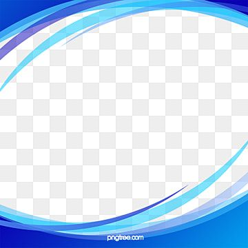 Hand Painted Blue Abstract Business Wave Border Frame Business Wavy Border Hand Painted Border Png Transparent Clipart Image And Psd File For Free Download Blue Abstract Wave Poster Watercolor Border