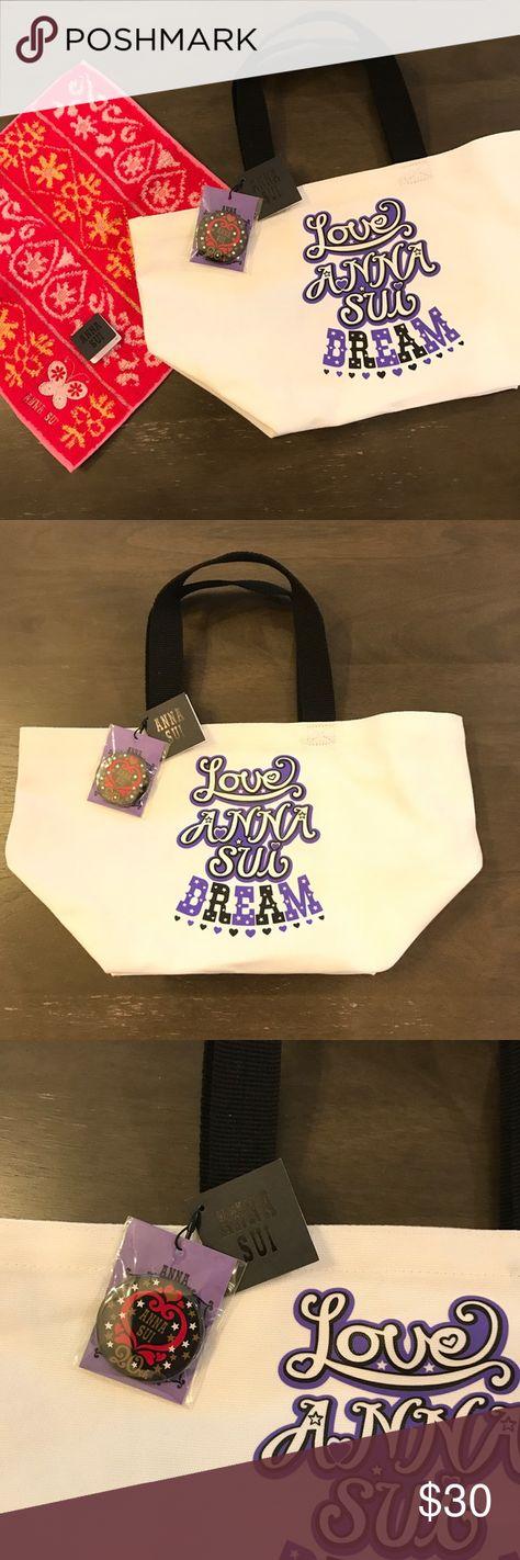 Anna Sui Tote Bag Brand New