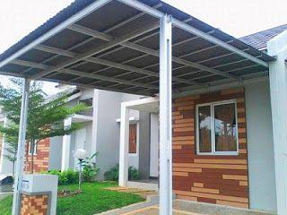 pasang canopy baja ringan depok portal bajaringan indonesia jasa pemasangan kanopi sawangan