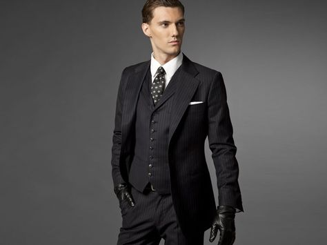 f873ca67d The Hedonist Navy Three-Piece Suit | Inspiration