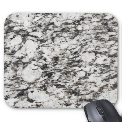 Granite Texture Background Of Marble In Black Mouse Pad Zazzle Com Stone Wallpaper Textured Background Stones Diy