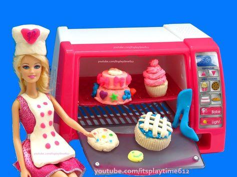playdoh barbie