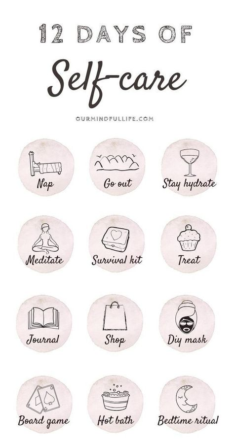 12 Days Of Self-care - Cultivate self-love during Christmas - Our Mindful Life