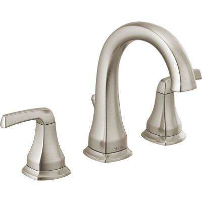 Delta Portwood 8 In Widespread 2 Handle Bathroom Faucet In