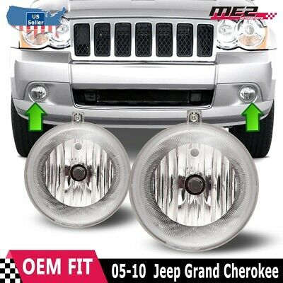 2005 2010 Jeep Grand Cherokee Fog Lights Polycarbonate Lens With A Superior Uv Protection And A Hig Chrysler 300 Jeep Grand Cherokee 2010 Jeep Grand Cherokee