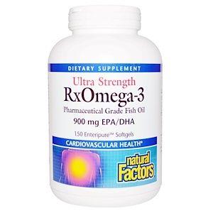 Natural Factors 成分超増量rxオメガ3 Epa Dha900mg Enteripure エンテリピュア ソフトジェル150粒 Natural Medicine Fish Oil Natural Vitamins