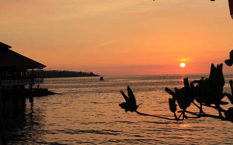 Sunset In Wisata Bahari Manado Bahari