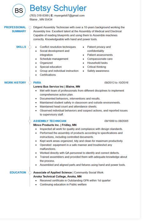 Screenshot Finalize Resume My Perfect Resume Perfect Resume