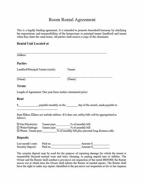 39 Simple Room Rental Agreement Templates Template Archive Room Rental Agreement Rental Agreement Templates Lease Agreement