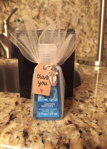 Trendy Baby Shower Party Prizes Hand Sanitizer Ideas Party