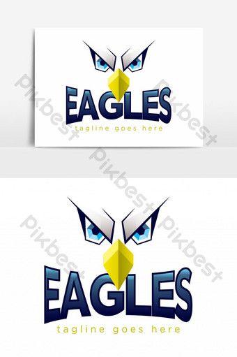 College Team Eagles Logo Design Png Images Eps Free Download Pikbest Logo Design Eagle Logo Graphic Design Logo