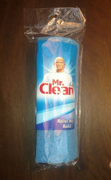 Mr Clean Roller Mop Refill Factory Sealed New In Package